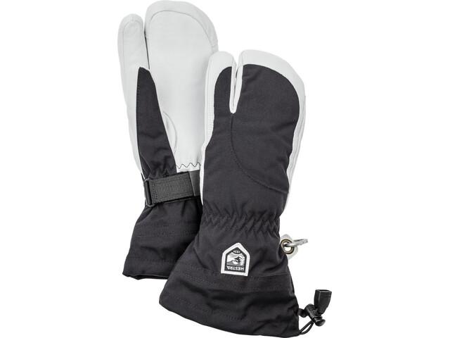 Hestra Heli Ski Guanti Donna, nero/bianco